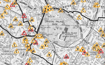 Highway Information in and Around Crystal Palace