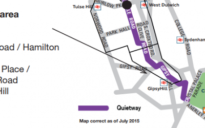 Quietway Q7 Statutory Consultation – Thurlow Park to Gipsy Hill