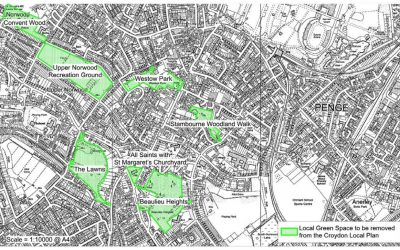 Loss of 'Local Green Space' Protection in Crystal Palace & Upper Norwood