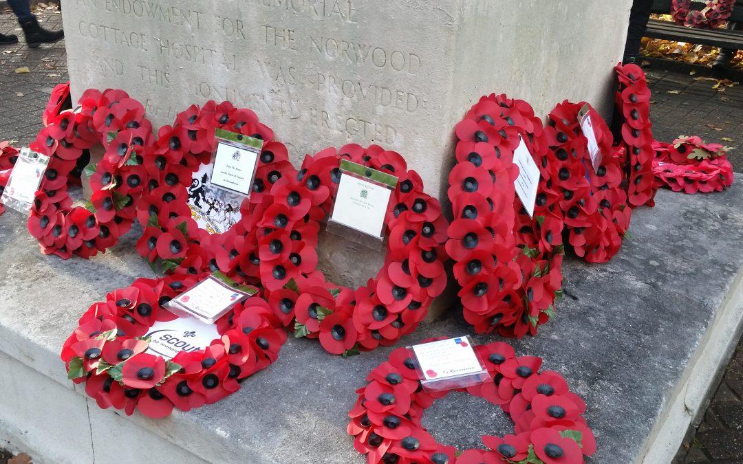 Crystal Palace Remembrance Day Service