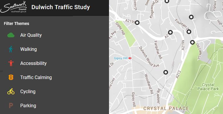 Southwark Traffic Management Study