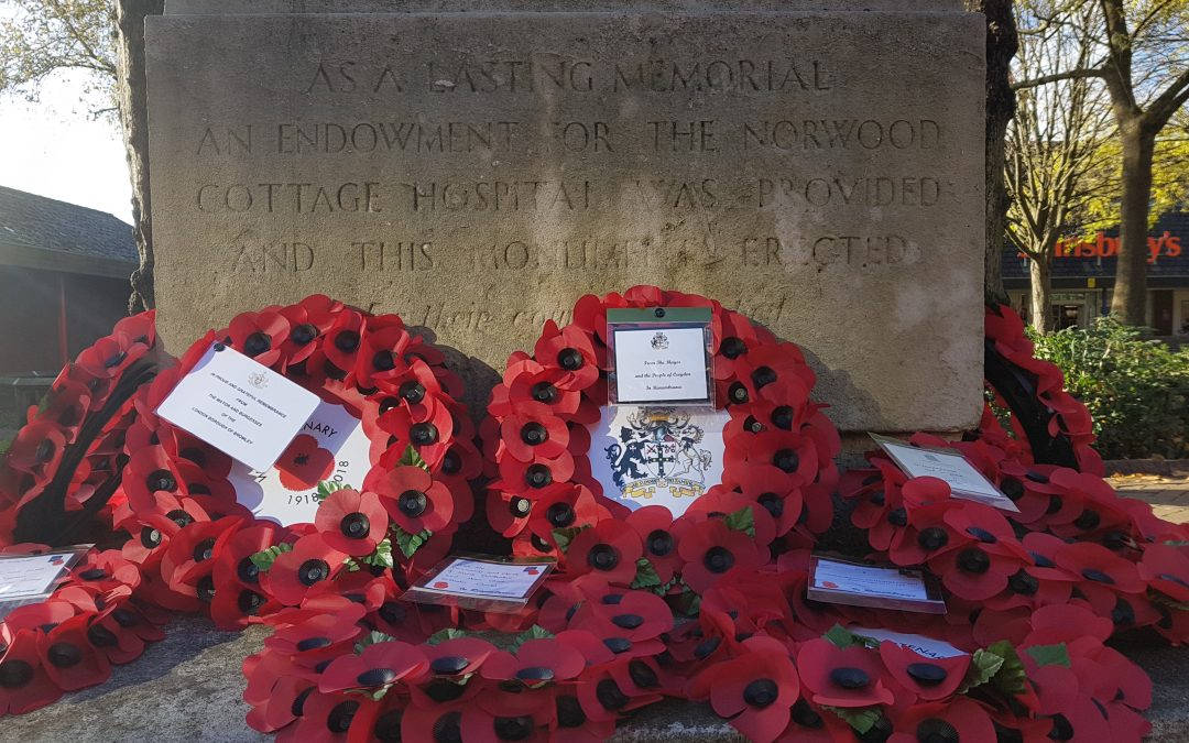 Crystal Palace Remembrance Day Service 1918-2018