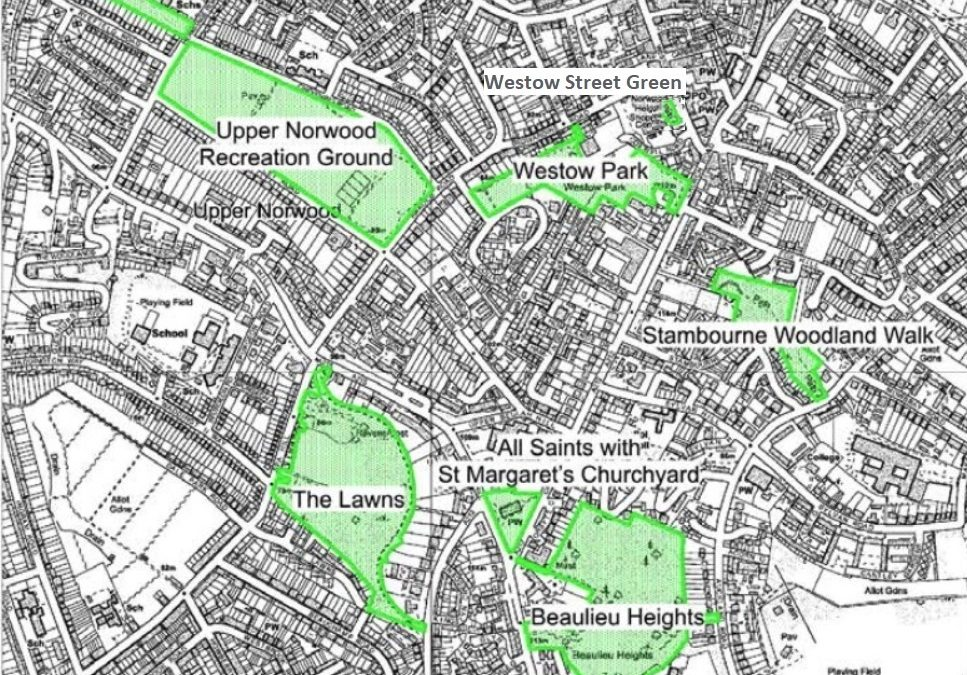 Croydon – Call for Evidence on Local Green Spaces